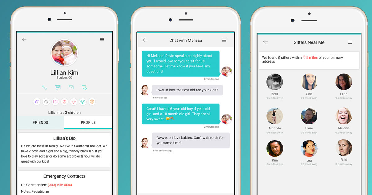 sitter 2 0 lets you find babysitters or babysitting jobs in your